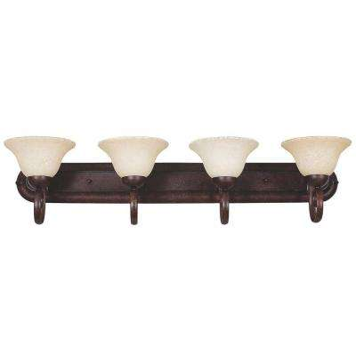 Tutt 4-Light Oil Rubbed Bronze Bath Vanity Light