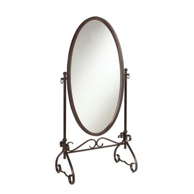 Clarisse 63 in. x 26 in. Metal Framed Mirror