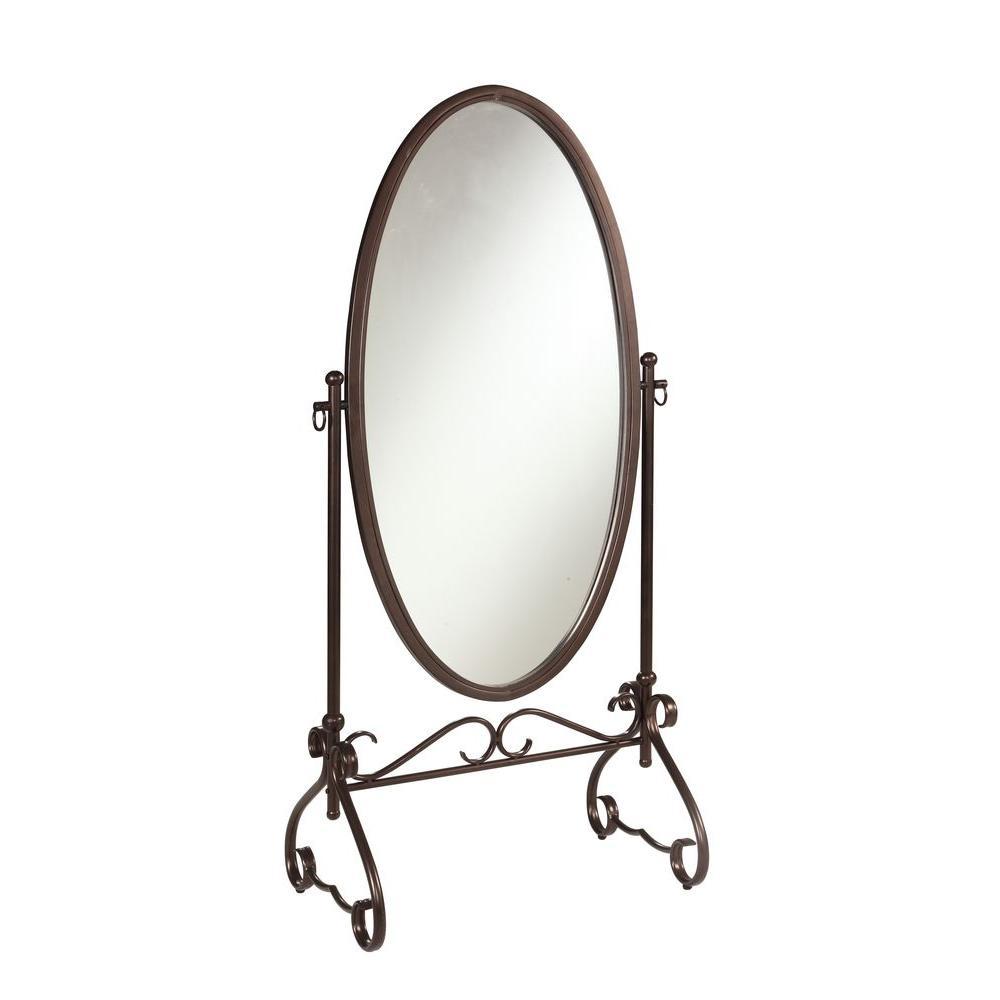Clarisse 63 in. x 26 in. Metal Framed Mirror