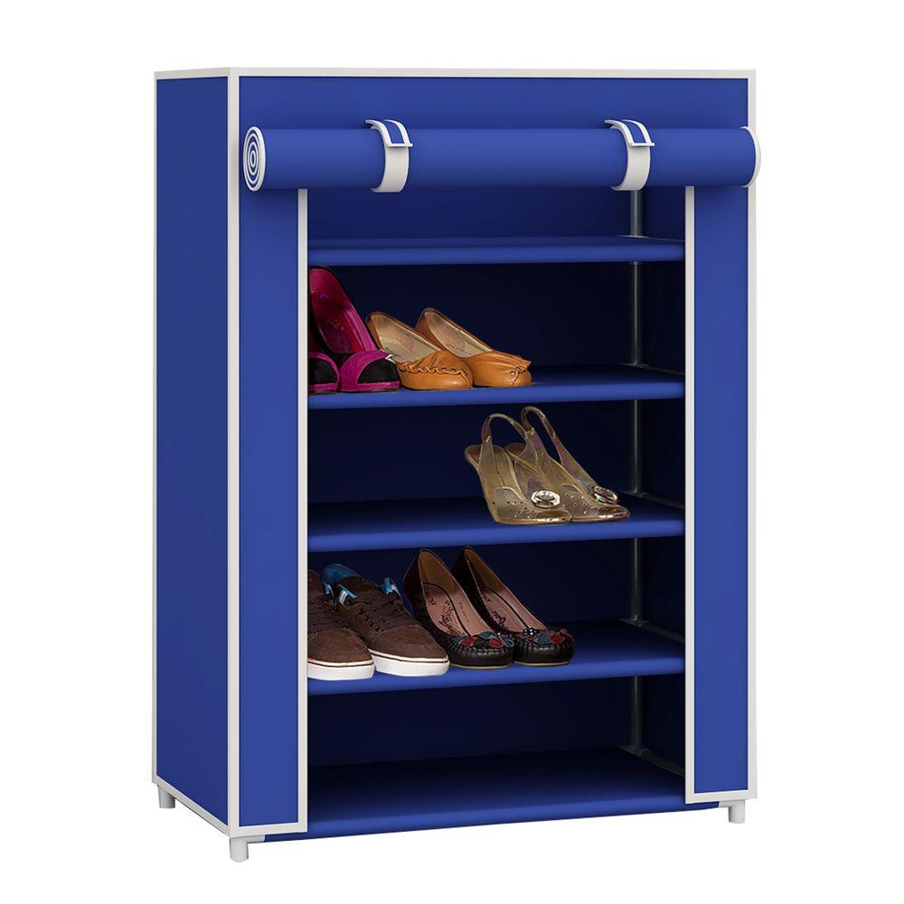 High 5 Tier 11 Pair Navy Color Shoe Organizer