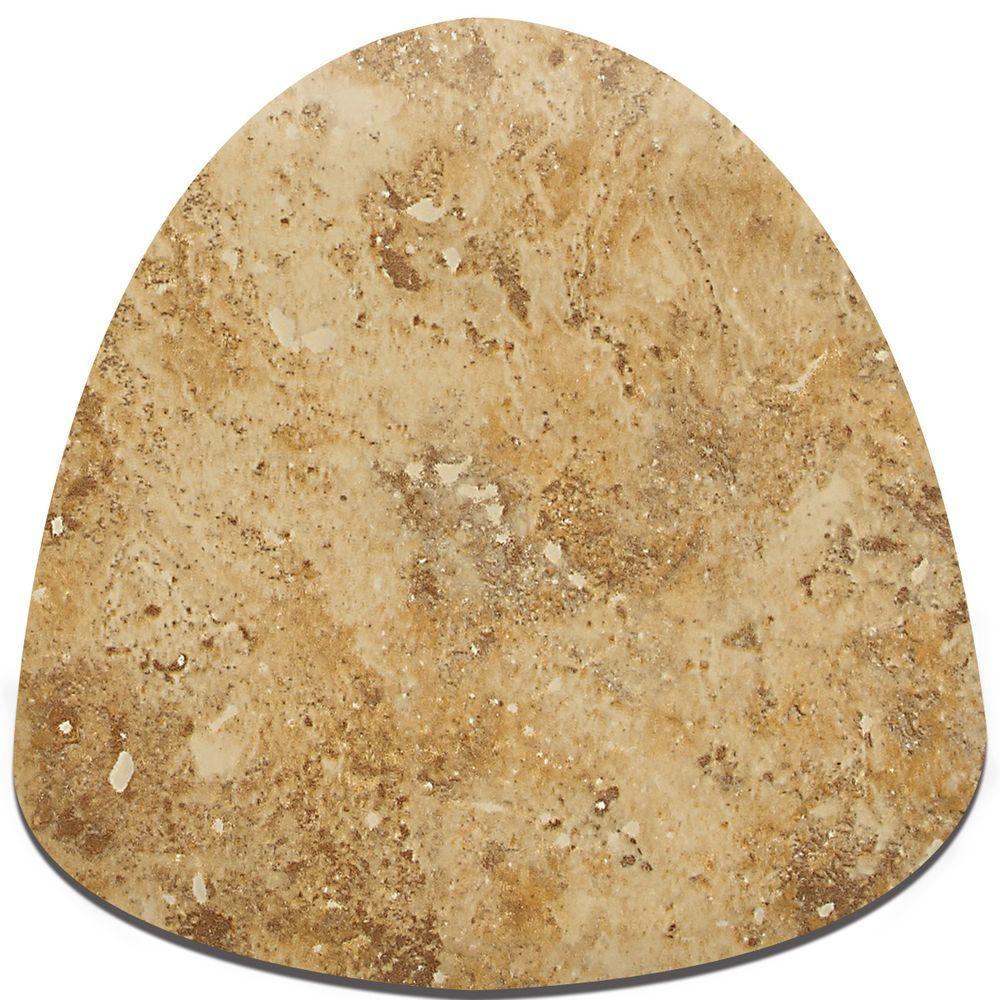 Daltile Heathland Amber 1 in. x 1 in. Glazed Ceramic Quarter Round Corner Wall Tile
