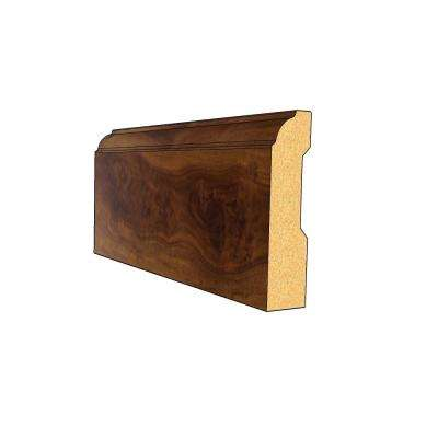 Secretariat 9/16 in. Thick x 3-1/4 in. Wide x 94 in. Length Laminate Wall Base Molding