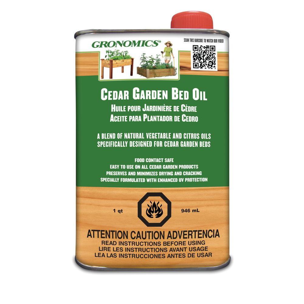 1 Qt. Cedar Garden Bed Oil