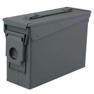 0.30 Cal. Metal Tactical Ammo Storage Box in OD Green