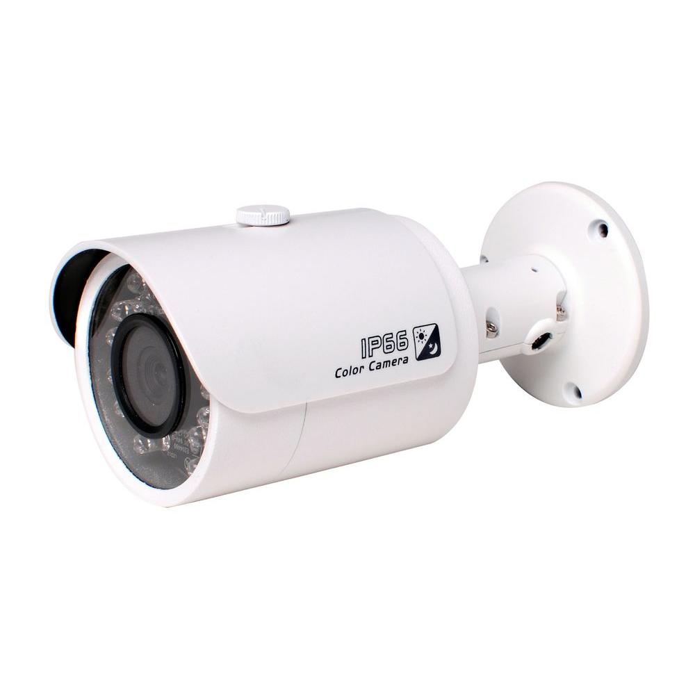 SPT Indoor or Outdoor 1 Megapixel 720P HD-CVI Wired Bullet Standard Surveillance Camera with 3.6 mm Lens and 24 IR LED