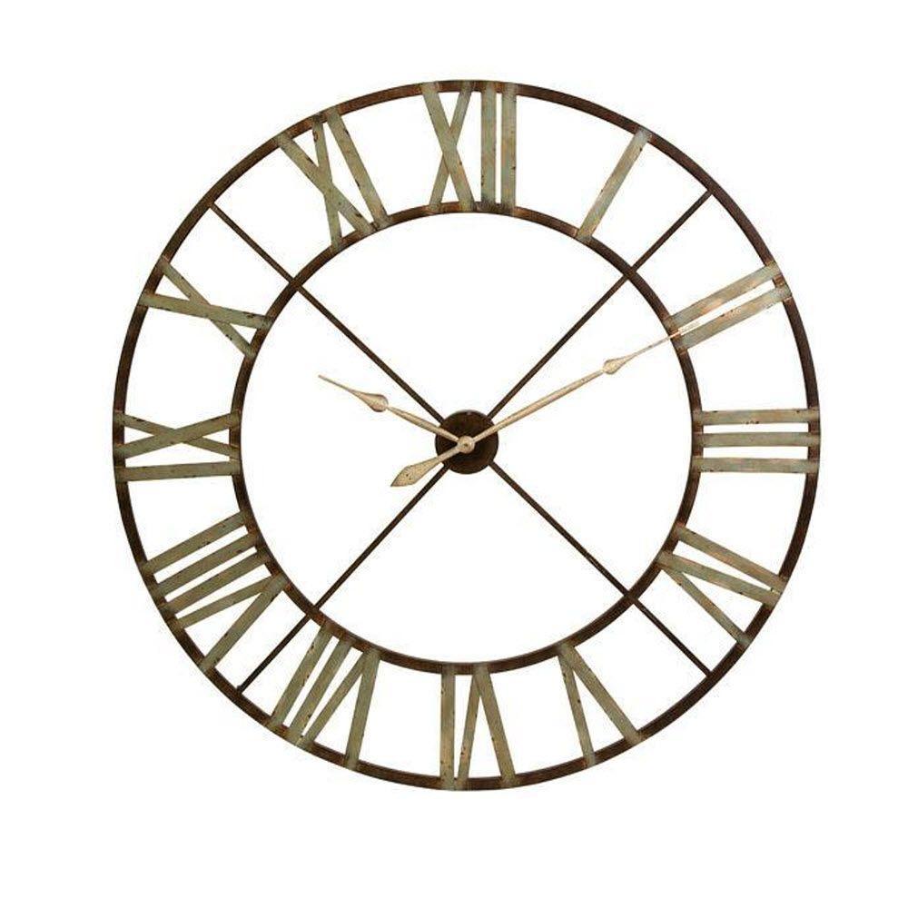 Edward 48 in. H x 48 in. W Round Wall Clock