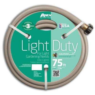 5/8 in. Dia x 75 ft. Light Duty Water Hose