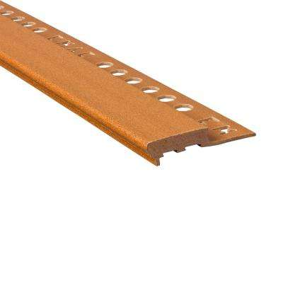 Novopeldano Maxi Honey 1/2 in. x 98-1/2 in. Composite Tile Edging Trim