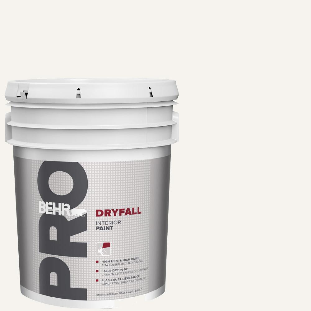 5 gal. White Dryfall Interior Paint