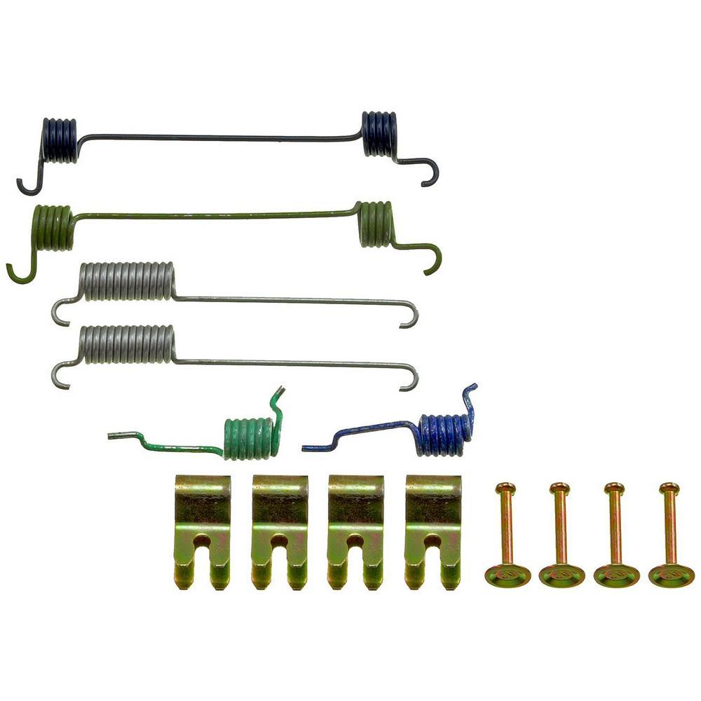 Drum Brake Hardware Kit - Rear