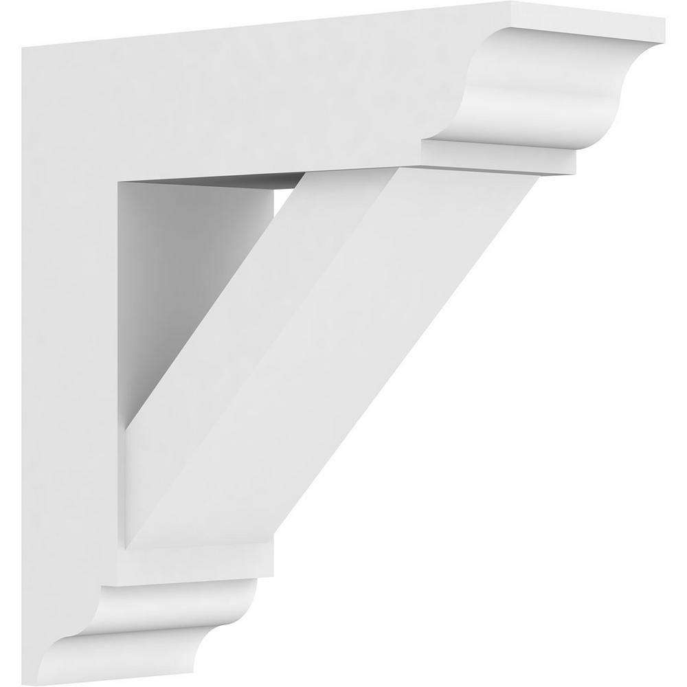 5 in. x 16 in. x 16 in. Traditional Bracket with