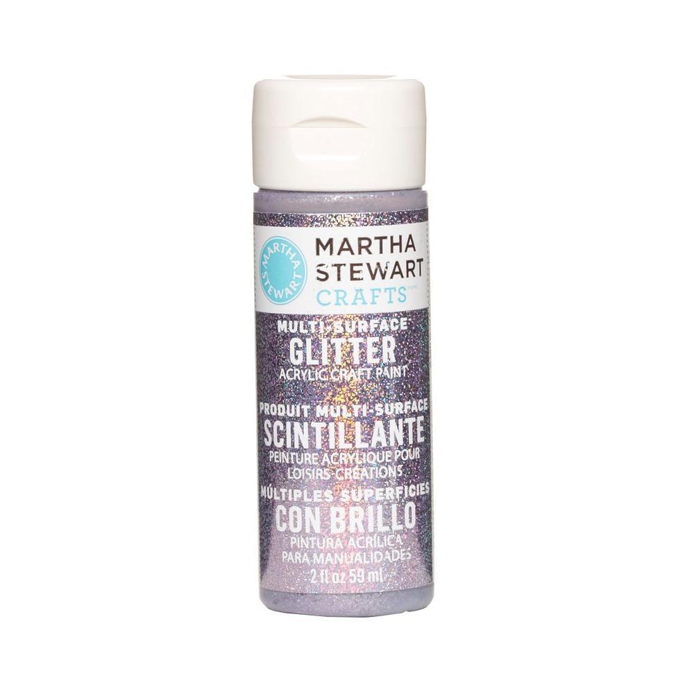 Martha Stewart Crafts 2-oz. Purple Sapphire Multi-Surface Glitter Acrylic Craft Paint
