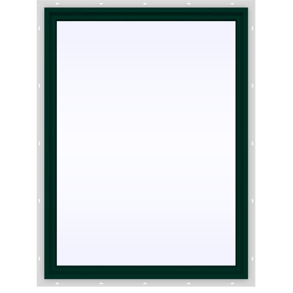 Jeld-Wen 35.5 in. x 47.5 in. V-4500 Series Fixed Picture ...