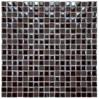 Cosmo Pixie Brown 11-3/4 in. x 11-3/4 in. x 4 mm Porcelain Mosaic Tile