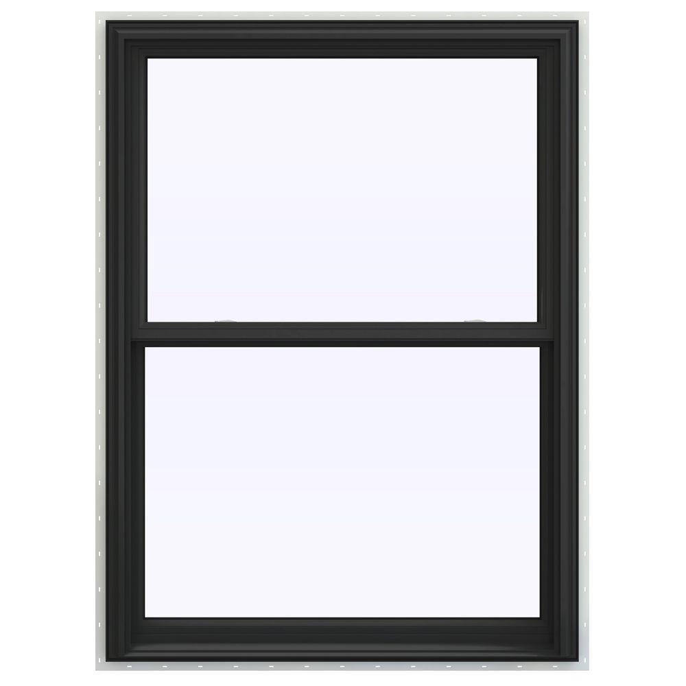 39.5 in. x 53.5 in. V-2500 Series Double Hung Vinyl Window