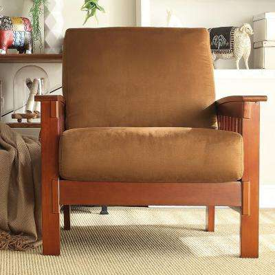 Dark Oak Arm Chair