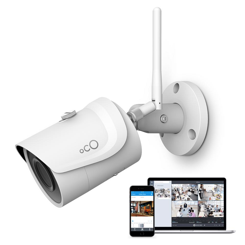 Oco Pro Bullet Outdoor/Indoor 1080p Cloud and Security Wireless Standard Surveillance Camera with Remote Viewing