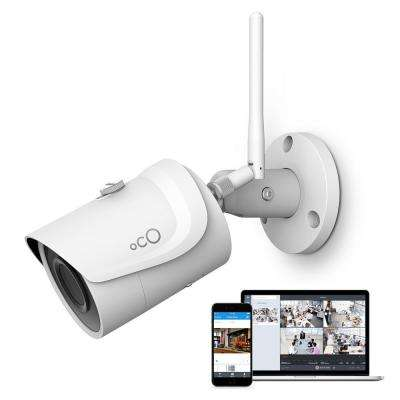 Pro Bullet Outdoor/Indoor 1080p Cloud Surveillance and Security Camera with Remote Viewing