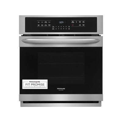 27 in. Single Electric Wall Oven with True Convection Self-Cleaning in Stainless Steel