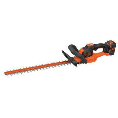 24 in. 40-Volt MAX Lithium-Ion Cordless POWERCUT Hedge Trimmer with 1.5 Ah Battery and Charger Included