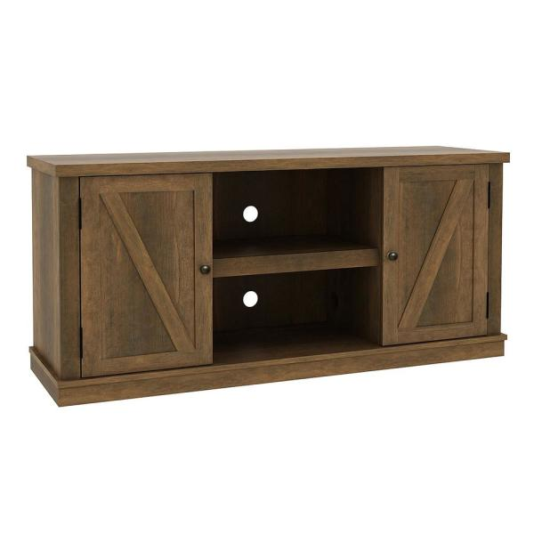 Holbrook 54 in. Natural Media Console