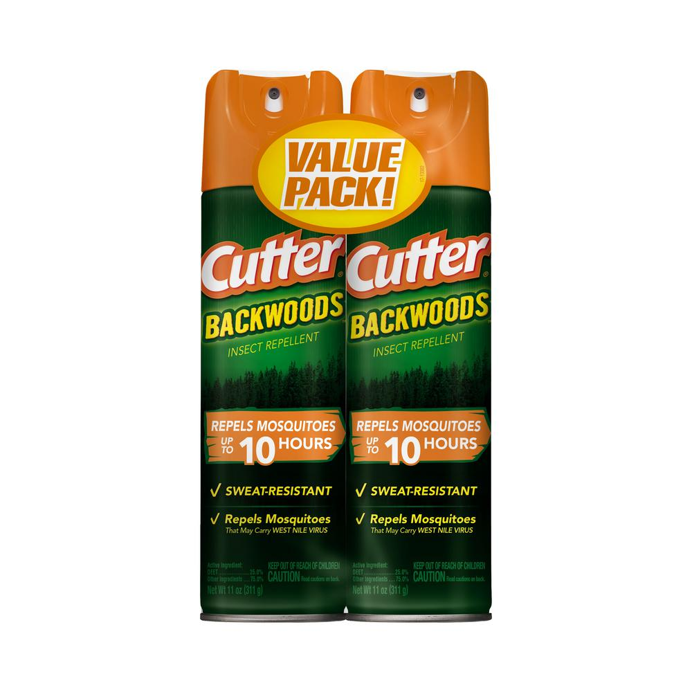 Backwoods 11 oz. Repellent Twin Pack