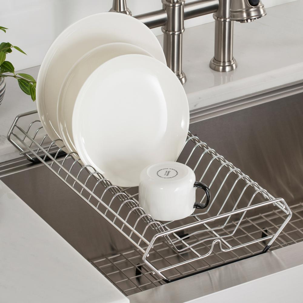 Kraus Workstation Stainless Steel Kitchen Sink Dish Drying Rack Kdr 1 The Home Depot