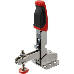 450 lb. Auto-Adjusting Toggle Clamp and Vertical Handle with Flanged Base
