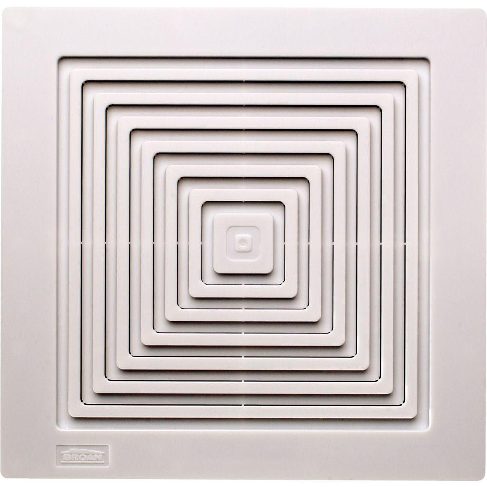 Broan replacement grille for 688 bath exhaust fan bp90 for Part f bathroom fan