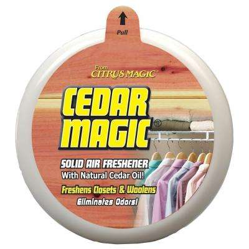 8 oz. Cedar Solid Odor Absorbing Air Freshener (6-Pack)