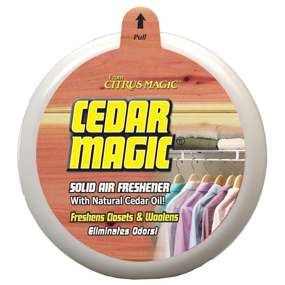 8 oz. Cedar Solid Odor Absorbing Air Freshener (3-Pack)