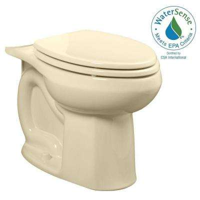 Colony Universal 1.28 GPF or 1.6 GPF Tall Height Elongated Toilet Bowl Only in Bone