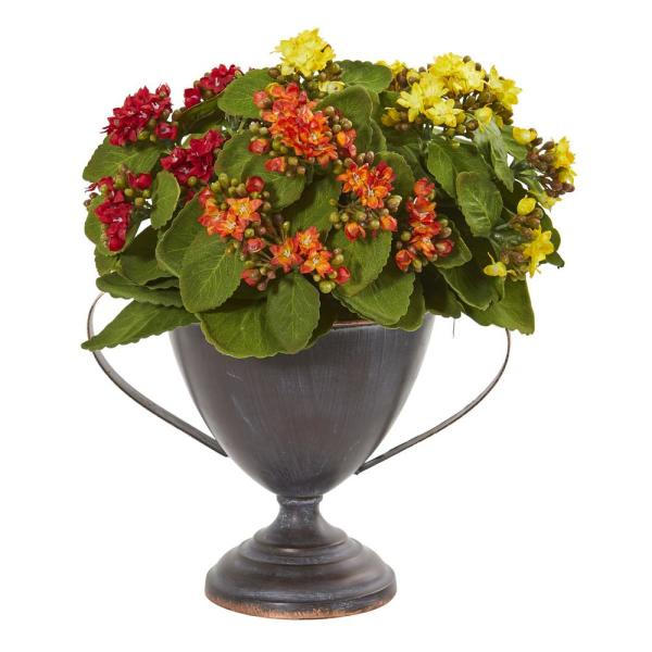 Nearly Natural 13 In Kalanchoe Artificial Plant In Decorative
