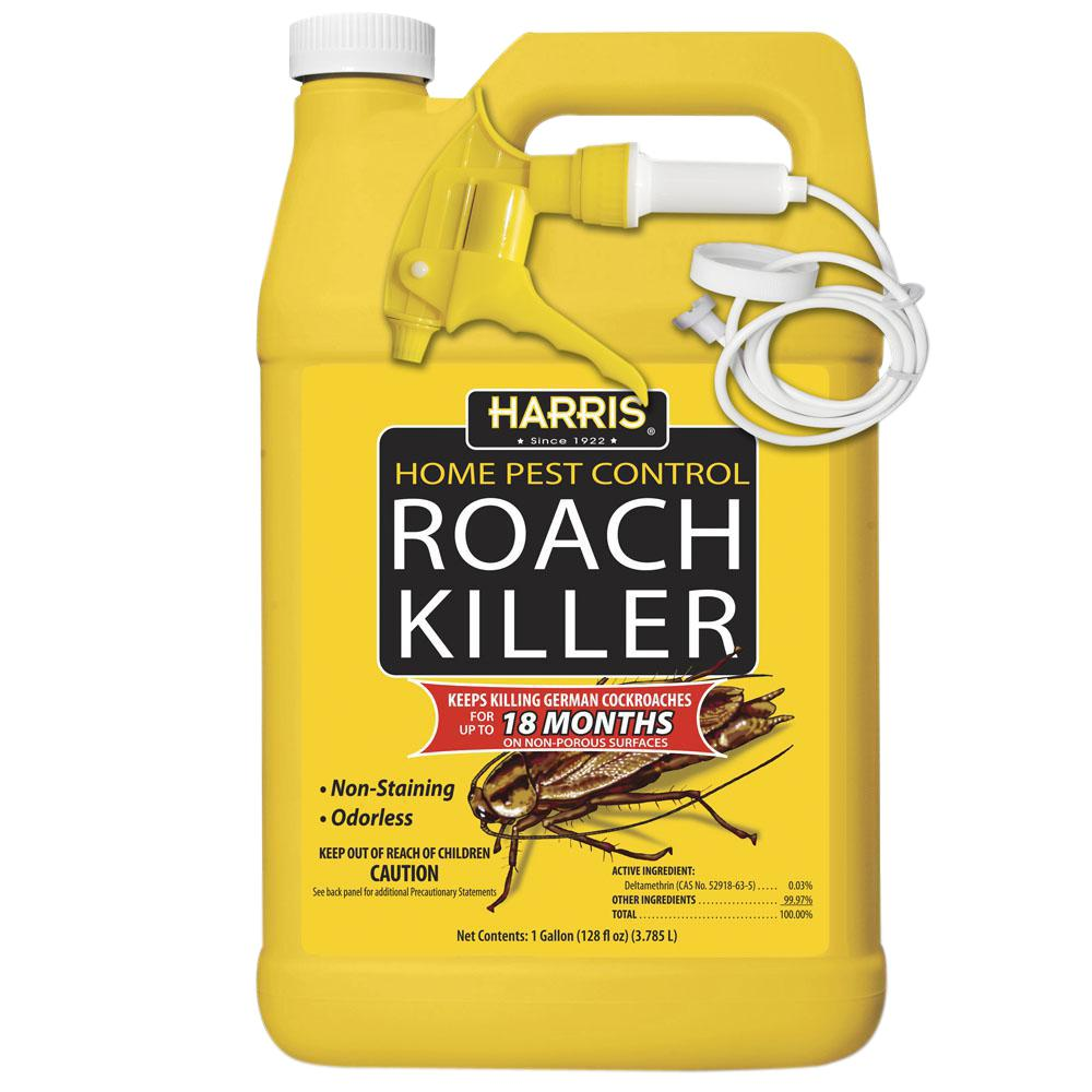 harris 1 gal. roach killer spray-hrs-128 - the home depot