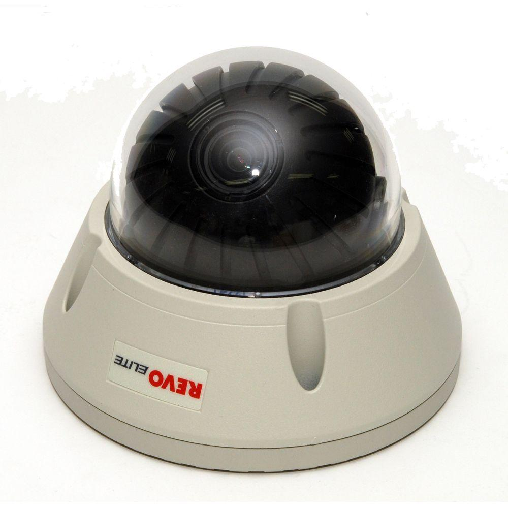 Revo Elite 600 TVL Indoor/Outdoor Vandal Proof Dome Surveillance Camera