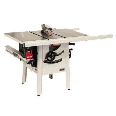 ProShop II 10 in table saw with 30 in. Rip and Cast Wings JPS-10