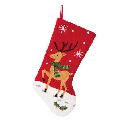 9.27  in. H Hooked Stocking Reindeer
