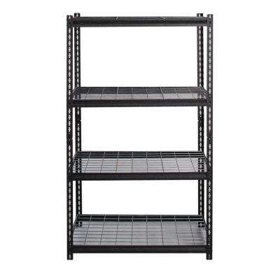 2300 Series 18 in. D x 36 in. W x 60 in. H Wire Deck Adjustable 4-Tier Garage Shelving Unit