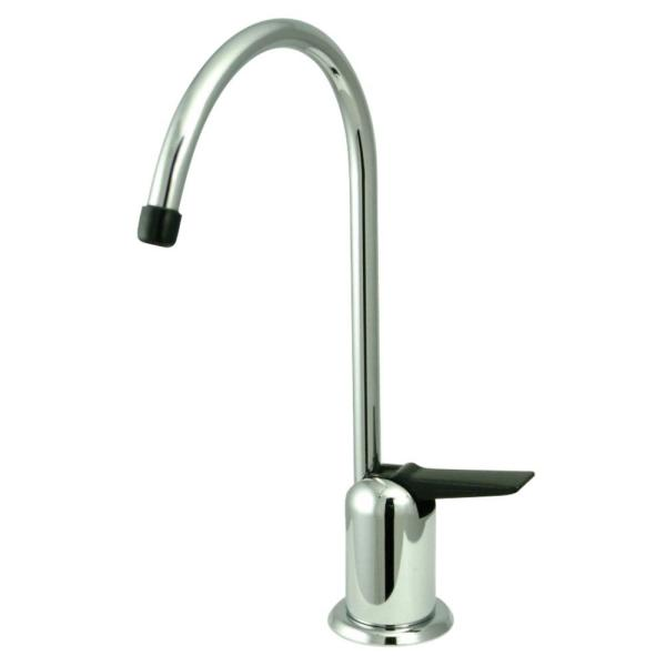 Replacement Drinking Water Single-Handle Beverage Faucet in Polished Chrome for Filtration Systems