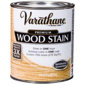 1 qt. Natural Premium Fast Dry Interior Wood Stain