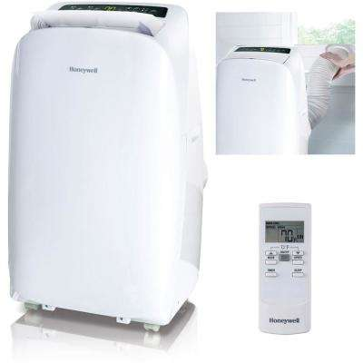 HL Series 10,000 BTU, 115-Volt Portable Air Conditioner with Dehumidifier and Remote Control in White