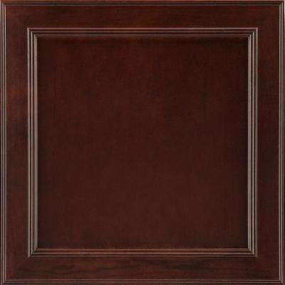 14-9/16x14-1/2 in. Cabinet Door Sample in Brookland Cherry Bordeaux