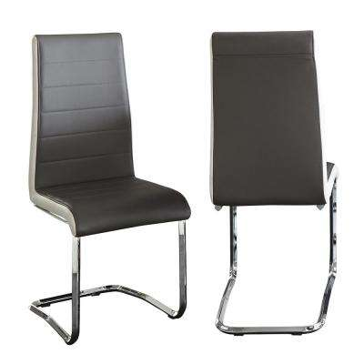 Nevada Black Side Chairs (Set of 2)