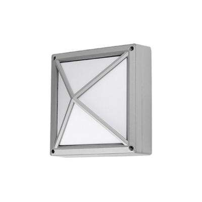 Yorkville Gray Outdoor Integrated LED Wall Mount Sconce