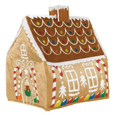 13.25 in. x 7 in. Gingerbread Christmas Hat