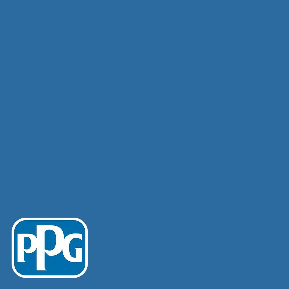 PPG Diamond 1 gal  #HDGV14D Deep Sapphire Blue Satin Interior Paint with  Primer