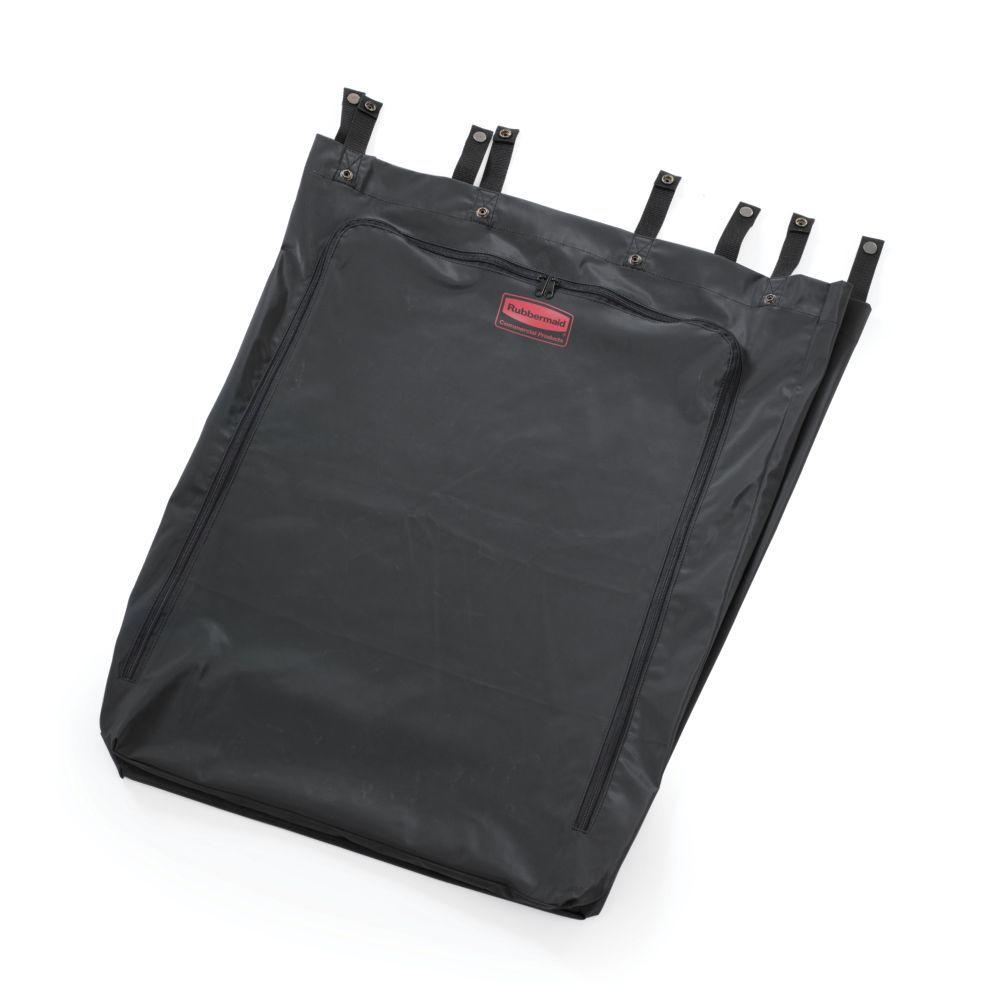 30 Gal. Black Premium Linen Hamper Bag