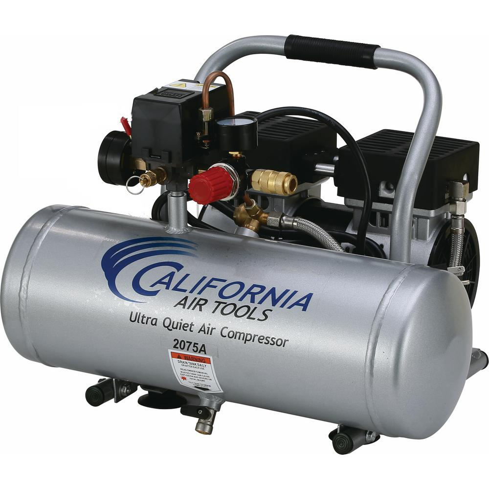 2.0 Gal. 3/4 HP Ultra Quiet and Oil-Free Aluminum Tank Air