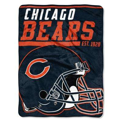 Bears Multi Color Polyester 40yd Dash Micro