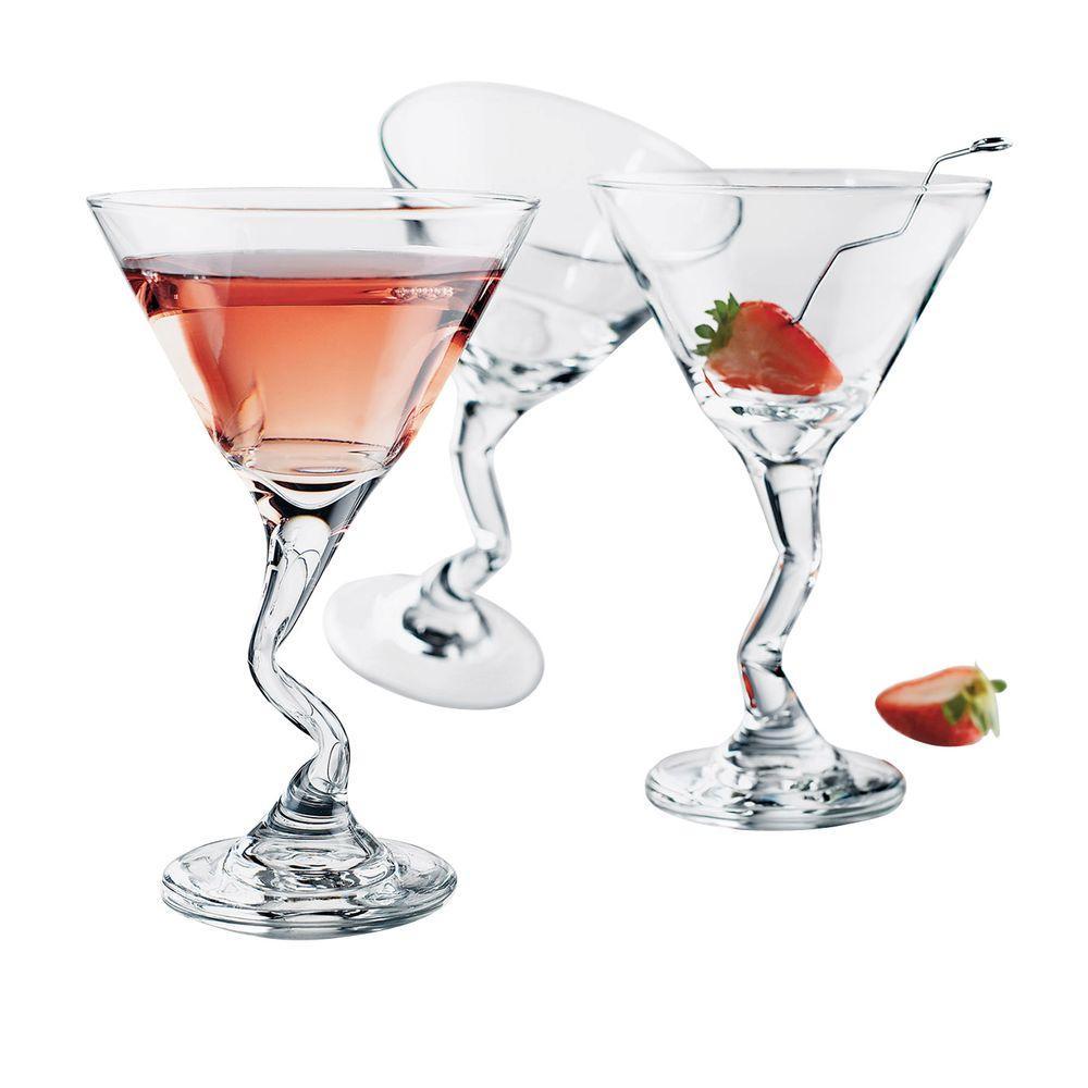 Libbey 9.25 oz. Z-Stem Martini Glasses (Box of 12)-DISCONTINUED